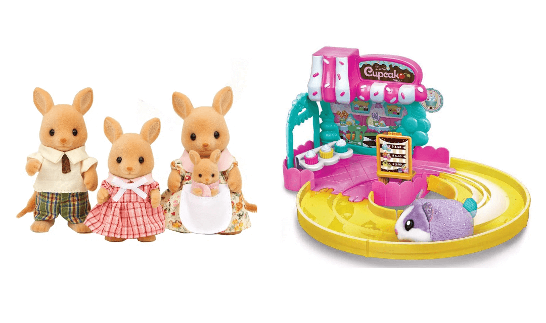 Brinquedos Hamster in the house e Sylvanian families