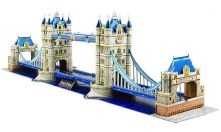 Quebra-Cabeça 3D: Lindos Postais da Europa em Sua Casa