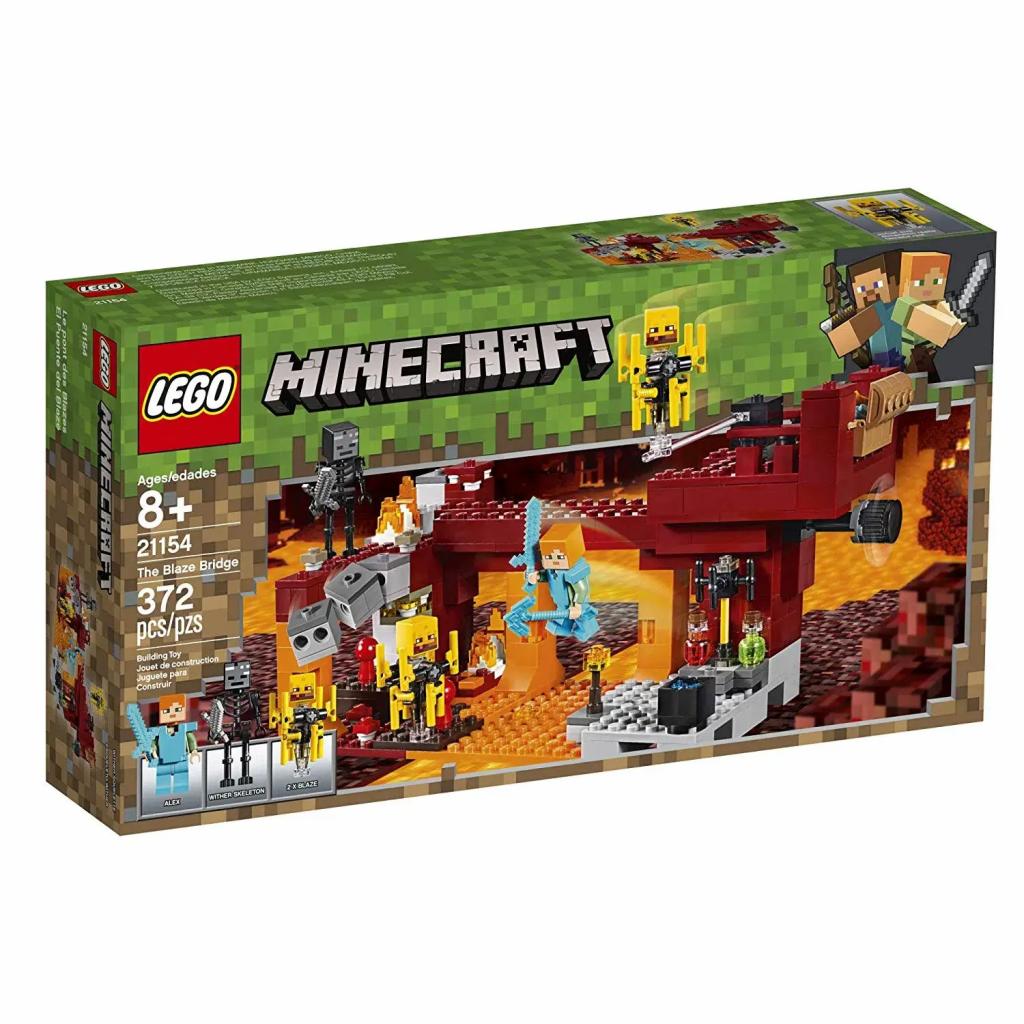 LEGO Minecraft - A Ponte Flamejante
