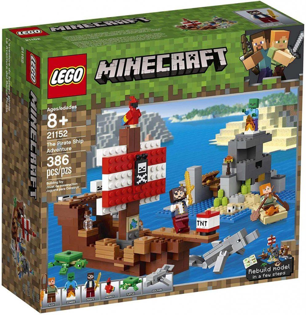 LEGO Minecraft - Aventura no Navio Pirata