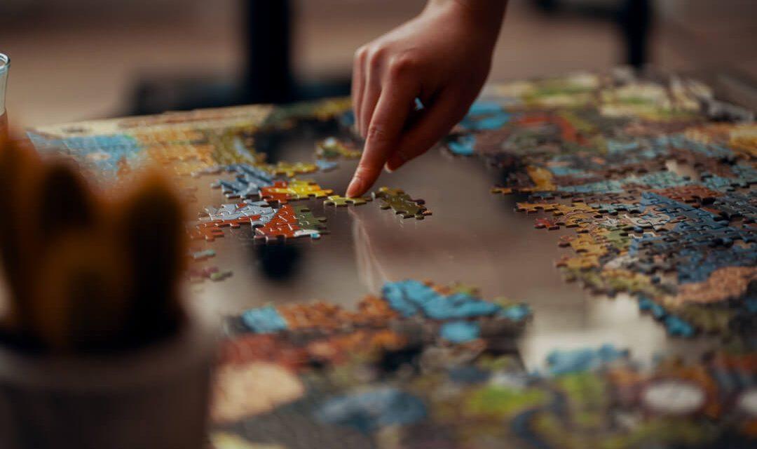 Quebra-cabeça: um excelente passatempo para a família inteira e jogo da memória