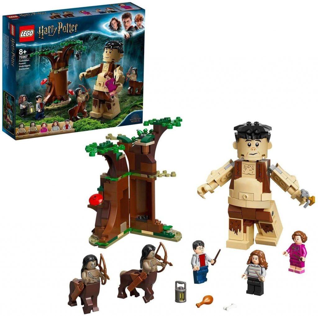 LEGO Harry Potter - A Floresta Proibida - O Encontro de Grope e Umbridge