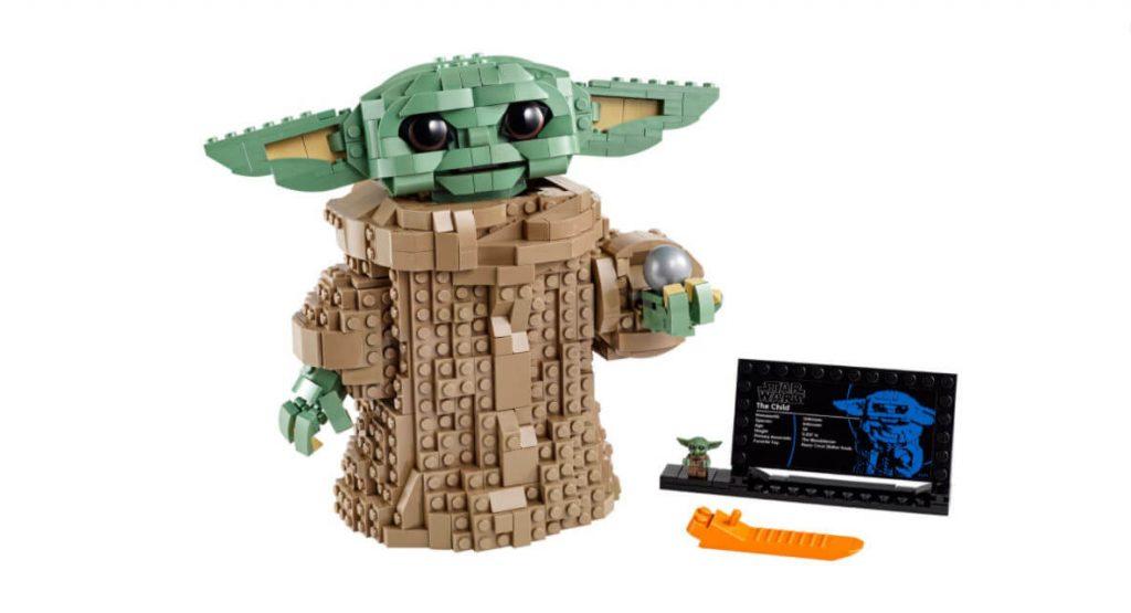 LEGO Star Wars - The Child do Baby Yoda com 1000 peças