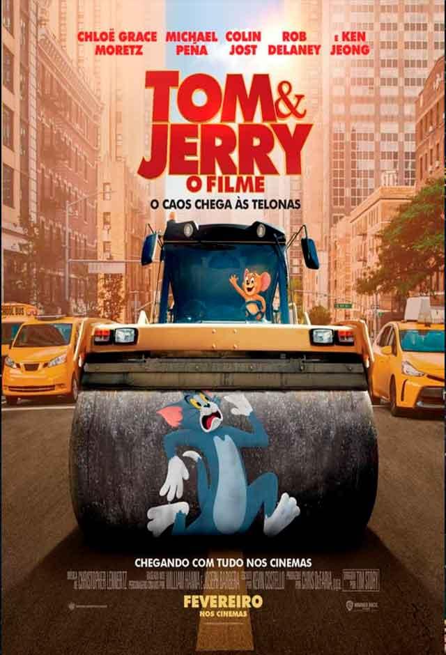 Filmes Infantis - Tom e Jerry - O Filme
