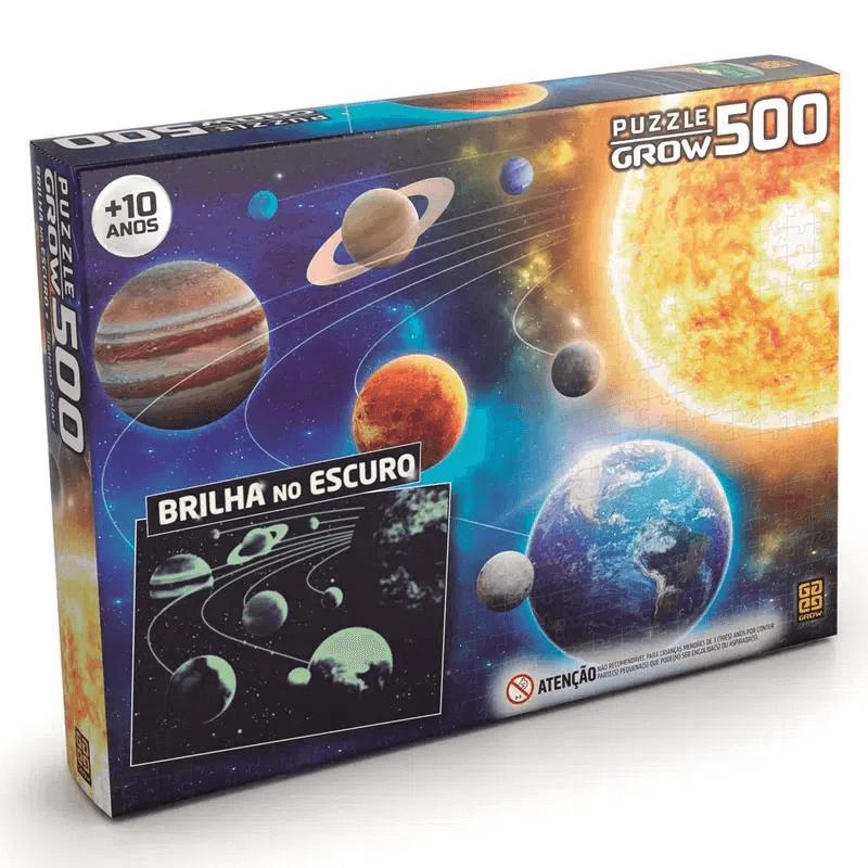Quebra-cabeça - 500-PCS-SISTEMA-SOLAR