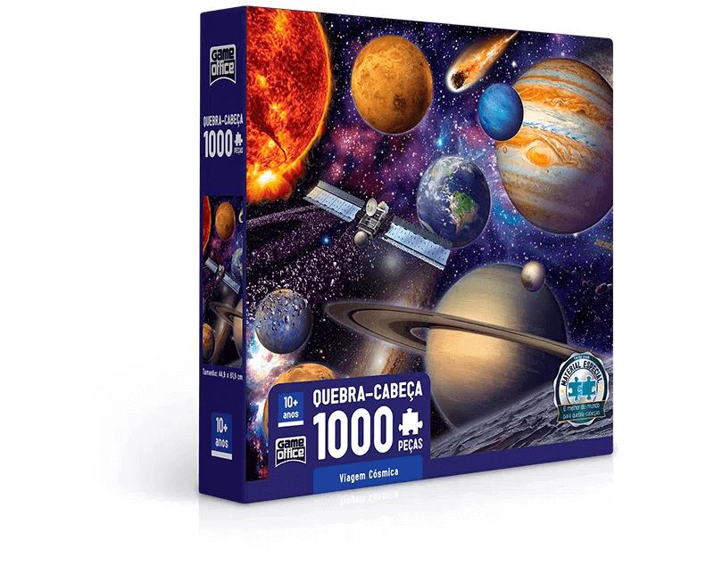 Quebra-cabeça 1000 peças Viagem Cósmica