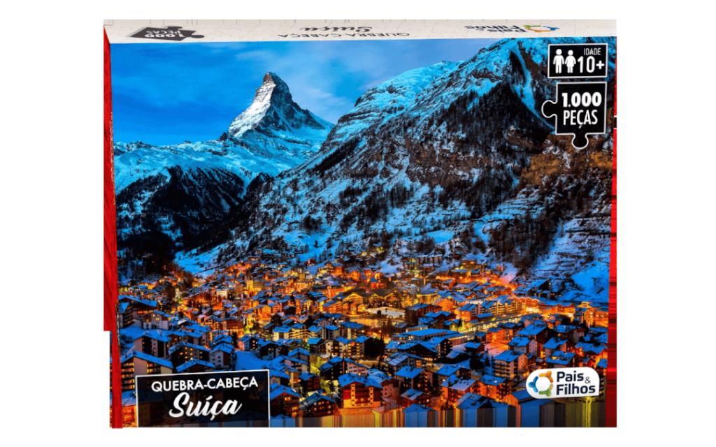 Quebra-cabeça 1000 peças Suíça