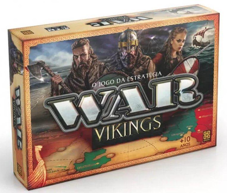 jogo de tabuleiro WAR Vikings